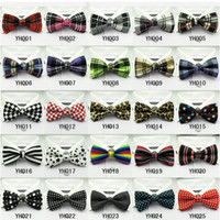 Wholesale Fashion Unisex Bow Tie Unique Classic Tuxedo Bowtie Wedding Party Bow Tie Necktie