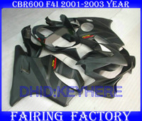 Wholesale matte blk fairing kit for Honda CBR600 F4i cbr CBRF4i bodywork fairings
