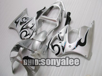 ABS fairings - Injection Fairing kit For Z6R ZX R ZX6R ZX R black silver Gifts