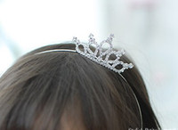Wholesale New children s stereo crown fashion children crowns and tiaras jewelry HG305
