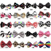 Wholesale New Children School Bowtie Kids Wedding Party Bow Tie Baby Clothes Accessories