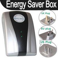 Wholesale 19KW Power Saving Energy Saver Electricity Save Box Device EU UK US Plug