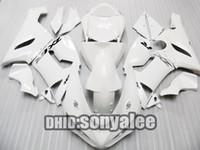 Wholesale All white fairing kit For Kawasaki Ninja ZX6R ZX R ZX R free windscreen