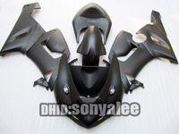 For Kawasaki fairings - Matt black ABS fairing kit For Kawasaki Ninja ZX6R ZX R ZX R windscreen