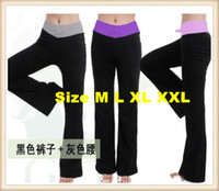 Wholesale 10pcs Sexy Black YOGA Fitness Workout pant Women yoga dancing pants hot selling in youmvp