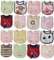 Wholesale New hot sale Infant Saliva Towels layer Baby Bib Waterproof Bib Mark