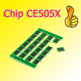 505X cartridge chip CE505X 505 compatible chip for HP P2050 2055