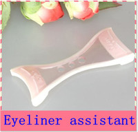 Wholesale liquid pencil Eyeliner assistant aid guide bearty girls tools Makeup Tool Soft Silicone special help