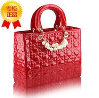 Wholesale Hot Selling PU Lady s Fashion Handbag Classic Socialite Beads Design Multicolour women like