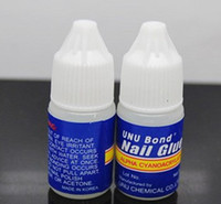 Wholesale 10Pcs g Acrylic Nail Art Glue French False Tips Manicure Nail Gel