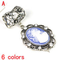 Wholesale Slide Scarf Accessories - New arrival Scarf DIY jewelry Necklace pendants Charms Pendant Jewelry scarf slide Findings slide accessories 6colors.PT-632