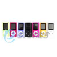 Wholesale 1 Screen MP3 MP4 Player support Micro SD Card max GB FM Voice Recorder Speaker Retail Box