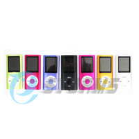 Wholesale 1 Screen MP3 MP4 Player support Micro SD Card max GB FM Voice Recorder Speaker Retail Box