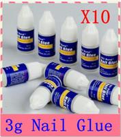 Wholesale 10Pcs g Acrylic Nail Art Glue French False Tips Manicure