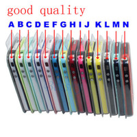 Wholesale Sample pc Glow in the Dark for phone Noctilucent Bumper Frame TPU Case cover for colors