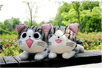 Wholesale KFC cheese cat large private houses cat plush toy pillow cute cartoon gift