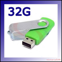 Wholesale Full Capacity GB Swivel USB Flash Drive USB FLASH MEMORY U disk usb driver