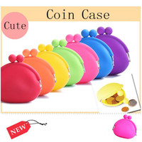 Wholesale Silicon Gel Coin Purse Girl Lady Zero Wallet Pouch Cosmetic Bag Key Bag