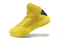 Wholesale Made In China TW10 Men Basketball Shoes yellow black us size