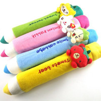 Wholesale Children Gifts Creative Stationery Lovely Pen Stationery Box Pencil Case Plush Toy