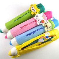 Wholesale Novelty Item Pencil Case Cute Pen Bag Soft Plush