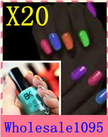 luminous nail polish luminous nail polish 7ml 20pcs nail it nail polish bk luminous nail polish neon luminous polychromatic 20 multicolour