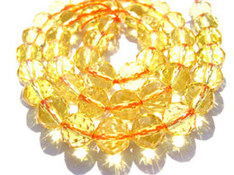 Wholesale Briolette Cirtrine quartz Bead mm full strand round ball faceted beads yellow clear white brown smoky mixed jewelry bead