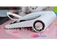 Wholesale New retro Hands free Telephone Speaker Landline Dock Handset for iPhone S Retail package
