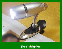 Wholesale Mini lamp LED book reading Light with Clip Bullet shaped Book led Light Kids gifts