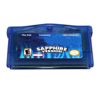 Wholesale Game GBA games Poke Sapphire GameBoy Advance Game M SAVE GBA game Xams Christmas
