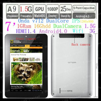 Wholesale In Stock Onda V712 Dual Core with A9 IPS GHz IPS x800 Dual Camera Android Tablet PC