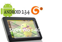 Wholesale New inch tablet pc android Capacitive Screen M GB Camera WIFI allwinner a13 Freeshipping