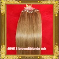 Wholesale 20 quot quot s g s Loop Micro Ring Hair Extension Remy Human Hair Extensions