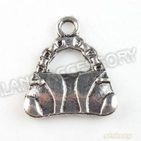 Wholesale Latest Design Alloy New Handbag Vintage Silver Charms Pendant Fit Jewelry Making