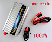 Wholesale 1000W USB Car Power Inverter Car Charger DC V AC V Power Inverter Adapter