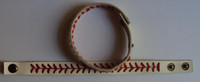 Wholesale high quality real leather baseball seam bracelet baseball stitch bracelet baseball bracelet