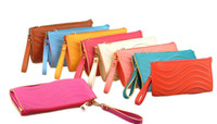 Wholesale 2014 new Lady leisure handbag Waves Wedding party PU leather zipper wallet Purse Shoulder bags gift quality