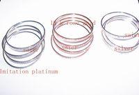 Women's batch platinum - bracelet jewelry K gold silver platinum Colors mixed batch of S121
