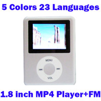 Wholesale Best Gift MP3 MP4 Player support max GB Micro SD Card FM Ebook Voice Recorder box