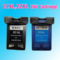Wholesale 21XL XL INK cartridge compatible for HP Dsekjet D1360 D1460 D2360 D2460 F370 F380 F2120