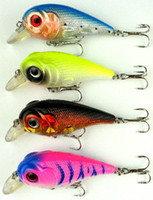 Wholesale 70mm Fishing lures Sea Fairy CM G hooks colors mixed fishing tackle plastic lures tw