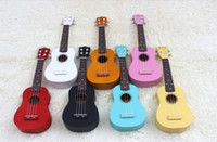 Wholesale OEM inches Soprano ukulele products Hawaiian children four strings small guitar