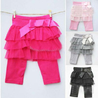 Wholesale Girl skirt pants baby dress cake pants baby tutu skirt pants baby clothes Leggings pants