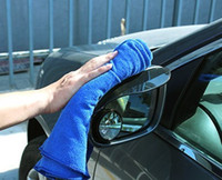 Wholesale one delicate microfiber cloth No desquamation For cleaning car size cm