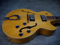 Wholesale best Newest Chinese s CE D Archtop Electric Guitar Blonde