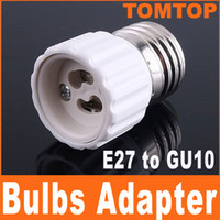 Wholesale E27 to GU10 base Bulb Lamp Holder Adapter Converter H4404