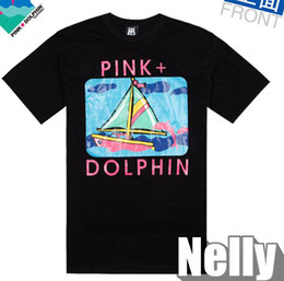 Wholesale South Beach T shirt PINK DOLPHIN Black SOULJA BOY Tee Hot sale Top Icloud Clothing
