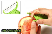 Wholesale Creative Portable Travel Apple Peeler Folding Fruit Peelers