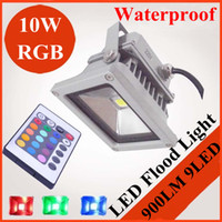 Wholesale 2X W V LM Waterproof Warm Cold White RGB LED Flood Light LED Landscape Lighting outdoor