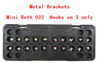 Mini Roth o22 3 with hooks   New Dental Orthodontic Metal Brackets Mini Roth o22 3 with hooks